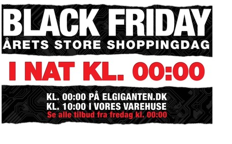 elgiganten black friday öppettider